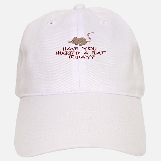Rat Hug Baseball Baseball Cap