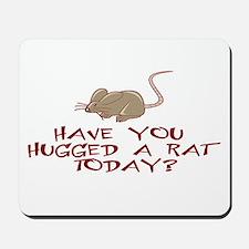 Rat Hug Mousepad