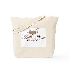 Rat Hug Tote Bag