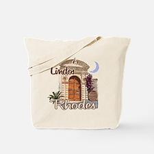 rhodes_lindos_t_shirt Tote Bag