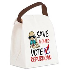 Save A Child Canvas Lunch Bag