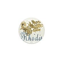 rhodes_helios_t_shirt Mini Button