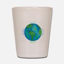 One World One Tribe Shot Glass