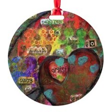 Every Child is an Artist Round Ornament