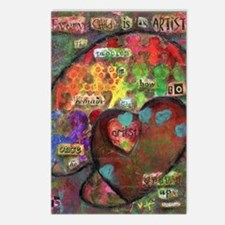 Every Child is an Artist Postcards (Package of 8)
