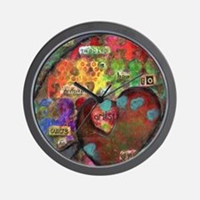 Every Child is an Artist Wall Clock