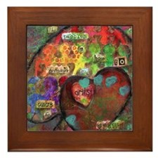 Every Child is an Artist Framed Tile