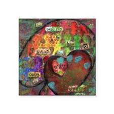 """Every Child is an Artist Square Sticker 3"""" x 3"""""""