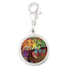 Every Child is an Artist Silver Round Charm