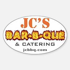 JCBBQ_white logo2 Decal