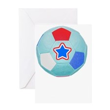 Soccer Future World Cup Player Shirt Greeting Card