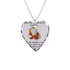 baby gets what he she wants Necklace