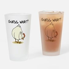 Chicken Butt Drinking Glass
