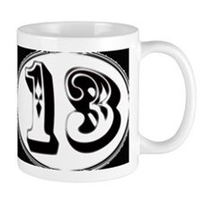 Lucky 13 coffee mug