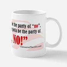 Hell No bumper p Mug