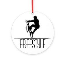 Freestyle BMX!! Ornament (Round)