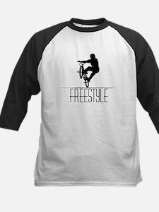 Freestyle BMX!! Kids Baseball Jersey