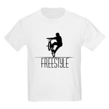 Freestyle BMX!! Kids T-Shirt