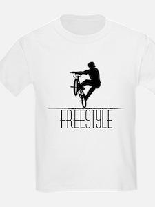 Freestyle BMX!! Kids T-Shirt
