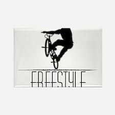 Freestyle BMX!! Rectangle Magnet