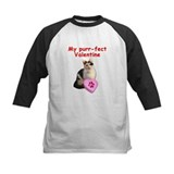 Cat valentine shirt Baseball Jersey