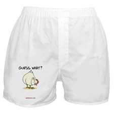 Chicken Butt Boxer Shorts