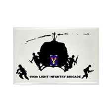 196th LIGHT INFANTRY Rectangle Magnet (100 pack)