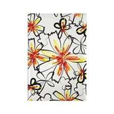 sketchyflowers_443 Rectangle Magnet