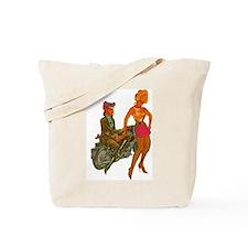 LEATHER DYKE Tote Bag