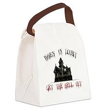 2-GetOut Canvas Lunch Bag