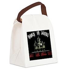 GetOutpillow Canvas Lunch Bag