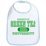 Green Tea University Bib