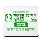Green Tea University Mousepad