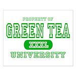 Green Tea University Small Poster