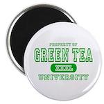 Green Tea University Magnet
