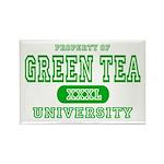 Green Tea University Rectangle Magnet