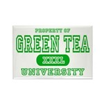 Green Tea University Rectangle Magnet (10 pack)
