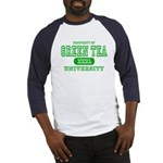 Green Tea University Baseball Jersey