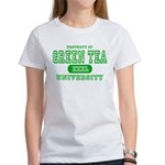 Green Tea University Women's T-Shirt