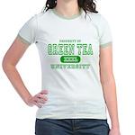 Green Tea University Jr. Ringer T-Shirt