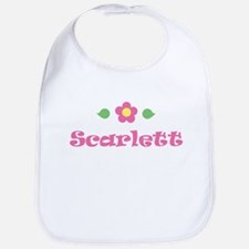 "Pink Daisy - ""Scarlett"" Bib"