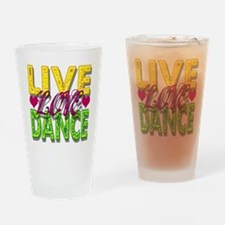 livelaughlove Drinking Glass