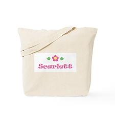 "Pink Daisy - ""Scarlett"" Tote Bag"