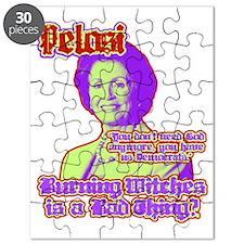 Pelosi speaks on God Puzzle