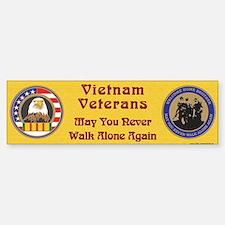 Vietnam Veteran Bumper Bumper Bumper Sticker