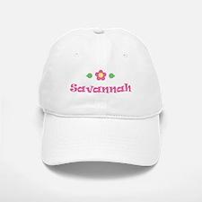 """Pink Daisy - """"Savannah"""" Baseball Baseball Cap"""