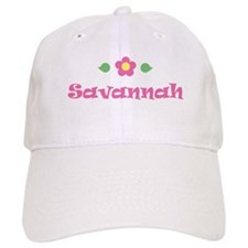 """Pink Daisy - """"Savannah"""" Cap"""