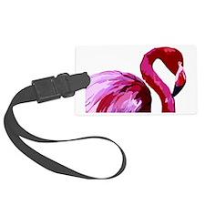 2-CafePress Flamingo.eps Luggage Tag