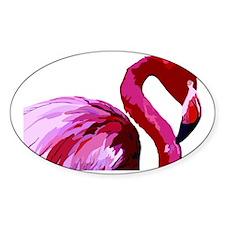 2-CafePress Flamingo.eps Decal