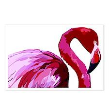 2-CafePress Flamingo.eps Postcards (Package of 8)
